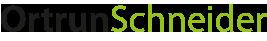 Ortrun Schneider · Gleichgewicht und Klarheit leben Logo